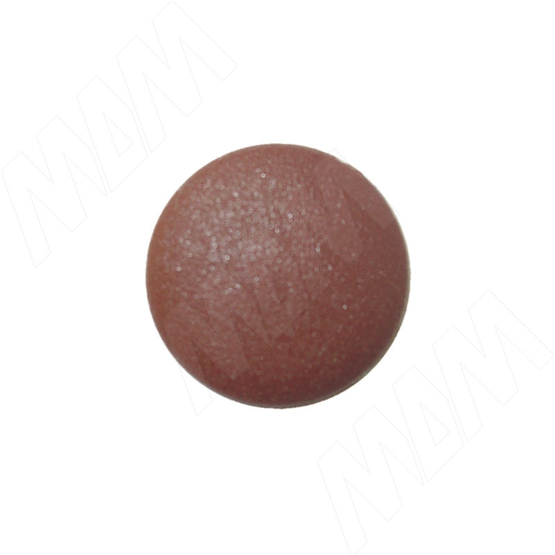 Заглушка для конфирмата S=4, красно-коричневая (S=4/Н КР-КОР №7 Н)