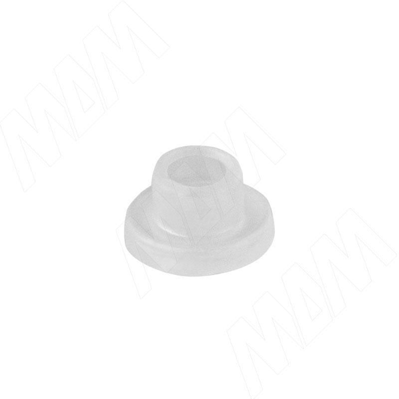 Втулка пластиковая для стекла толщиной 4-5 мм, прозрачная (TLK R 4 MM)
