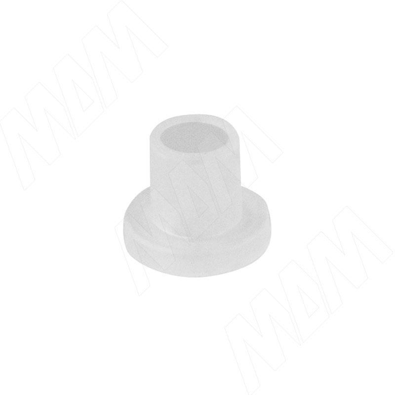 Втулка пластиковая для стекла толщиной 6-8 мм, прозрачная (TLK R 6 MM)