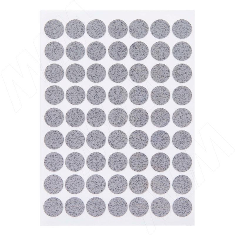 Заглушка самоклеящаяся бетон Чикаго светло-серый, D13 мм (63 шт.) фото товара 2 - 13.039-HM