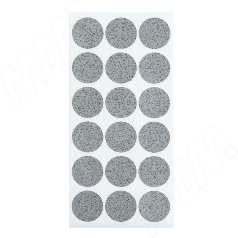 Заглушка самоклеящаяся бетон Чикаго светло-серый, D20 мм (18 шт.) фото товара 2 - 20.039-HM