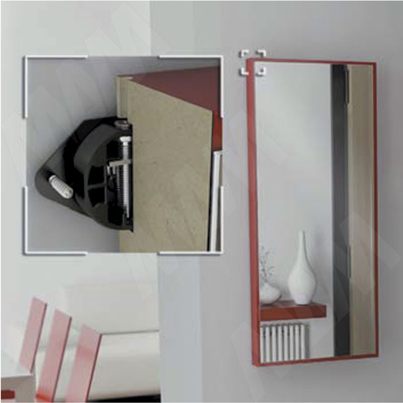 Врезной навес с крюком для стеновых панелей, пластик фото товара 2 - 6 34120 30 EA