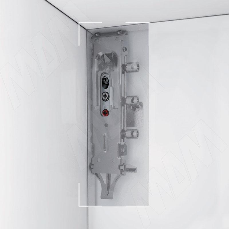 LIBRA H2 Скрытый мебельный навес универсальный с креплением на штоки и фиксатор фото товара 2 - 6 34200 20 ZN