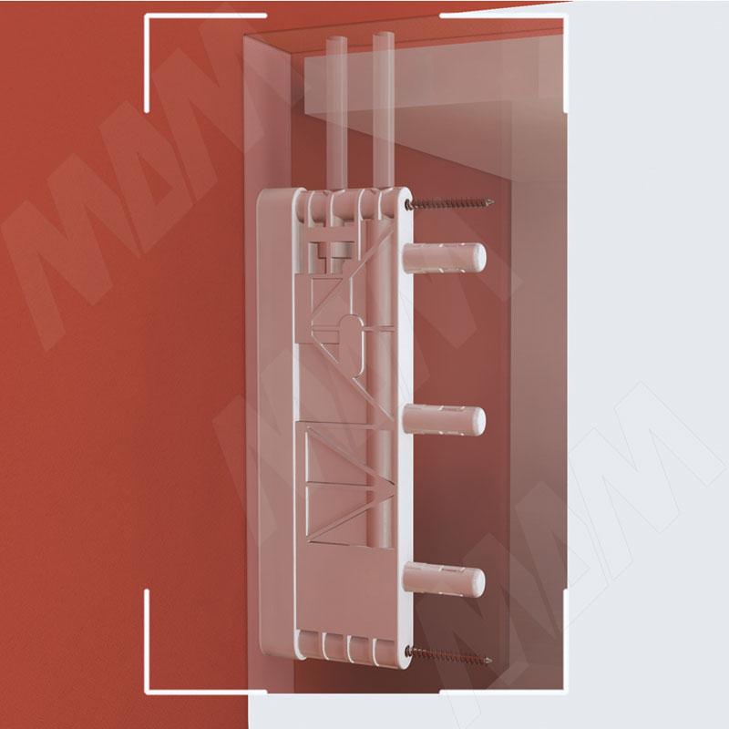 LIKU Скрытый навес универсальный для конструкций без задней стенки фото товара 2 - 6 38010 00