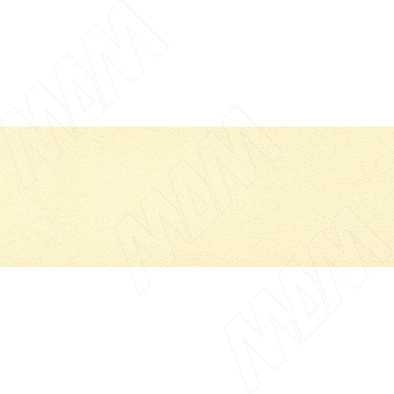 Кромка ПВХ Ваниль (тиснение - гладкое) (0863/F14 19X0,4 300M)
