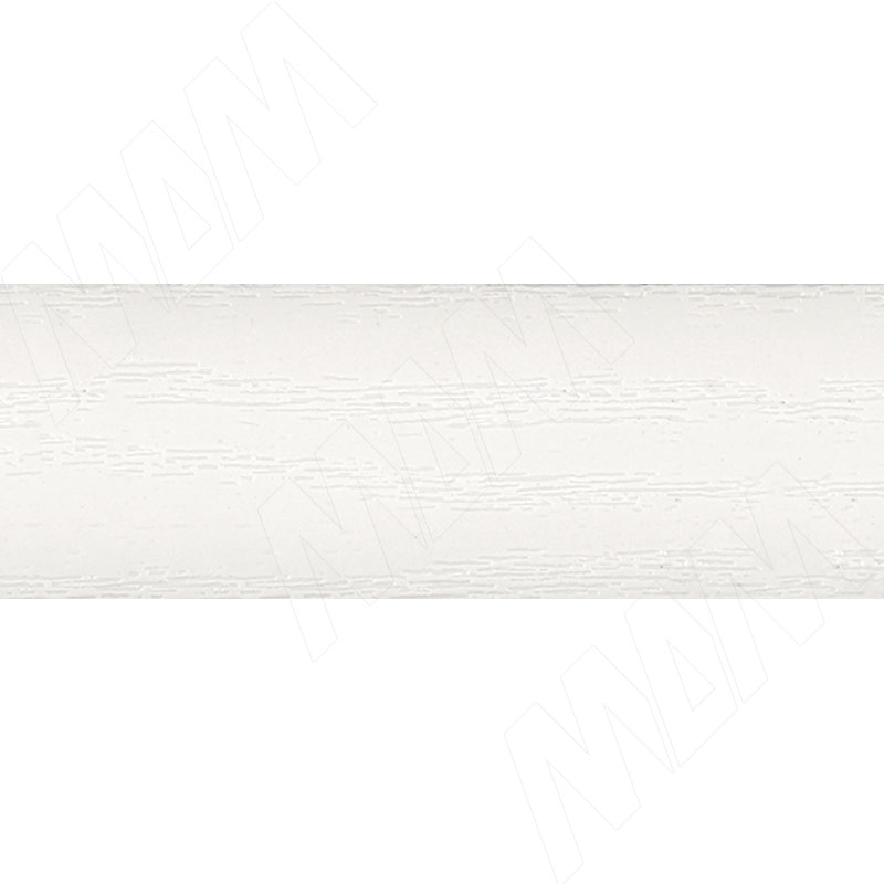Кромка ПВХ Белый с тиснением под дерево (1020-08 29X1)