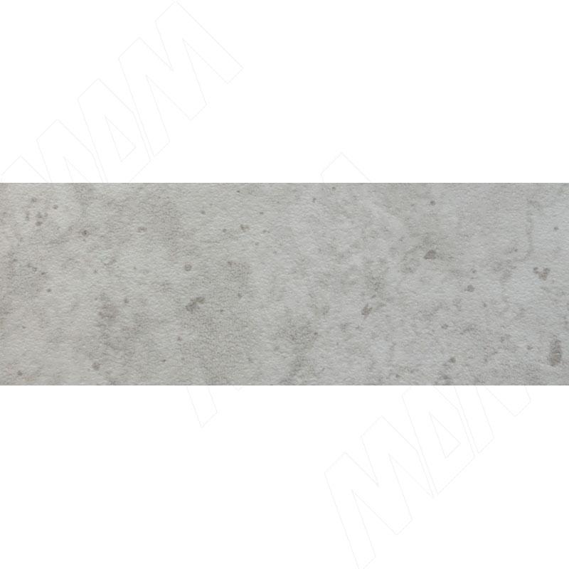 Кромка ПВХ Бетон Чикаго светло-серый (Egger F186 ST9) (P 210X 19X0,4) столешница 4100х600х38мм бетон светлый f274 st9