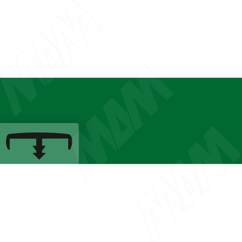 Кант зеленый глянец (C104/16 VE15 /М)
