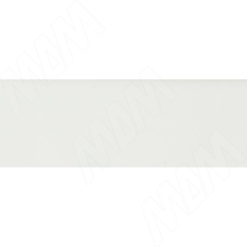 Кромка АБС Белый Альпийский (матовый Egger W1100 PM/PT)/Белый Премиум (матовый Egger W1000 PM/PT) (PM 293B 23X1)