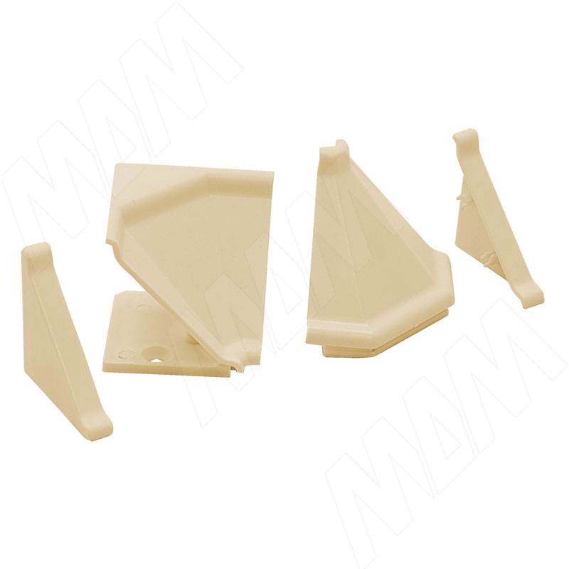 Аксессуары для треугольного плинтуса 32.01R, бежевый (09.532R.AV) аксессуары для треугольного плинтуса белый 09 565 bi
