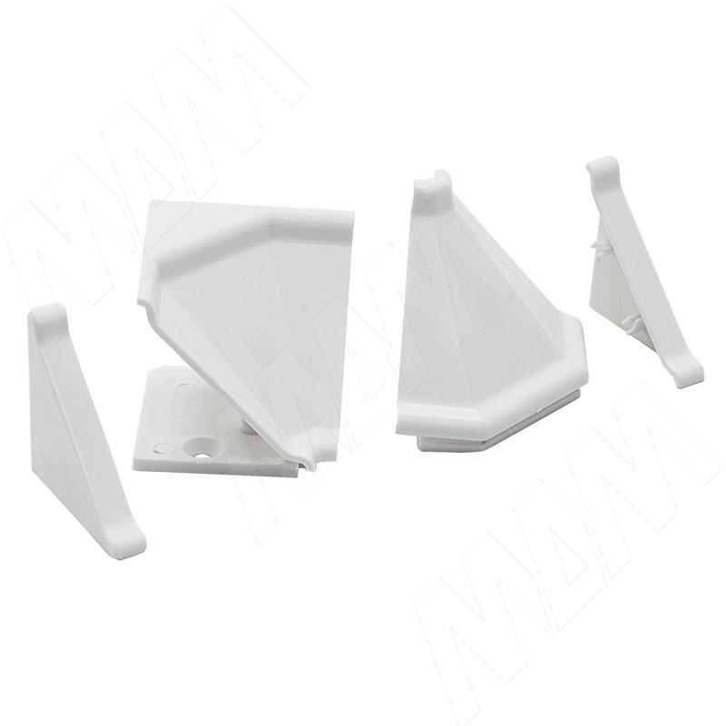 аксессуары Аксессуары для треугольного плинтуса 32.01R, белый (09.532R.BI)