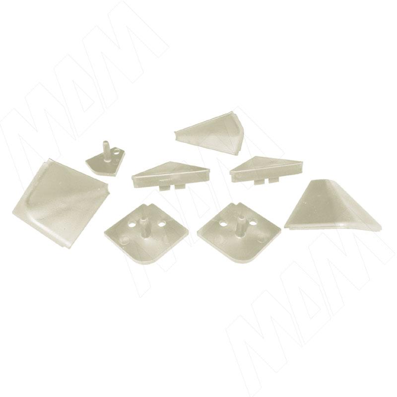 Аксессуары для треугольного плинтуса, бежевый (09.565.AV) аксессуары для треугольного плинтуса 32 01r черный 09 532r nr