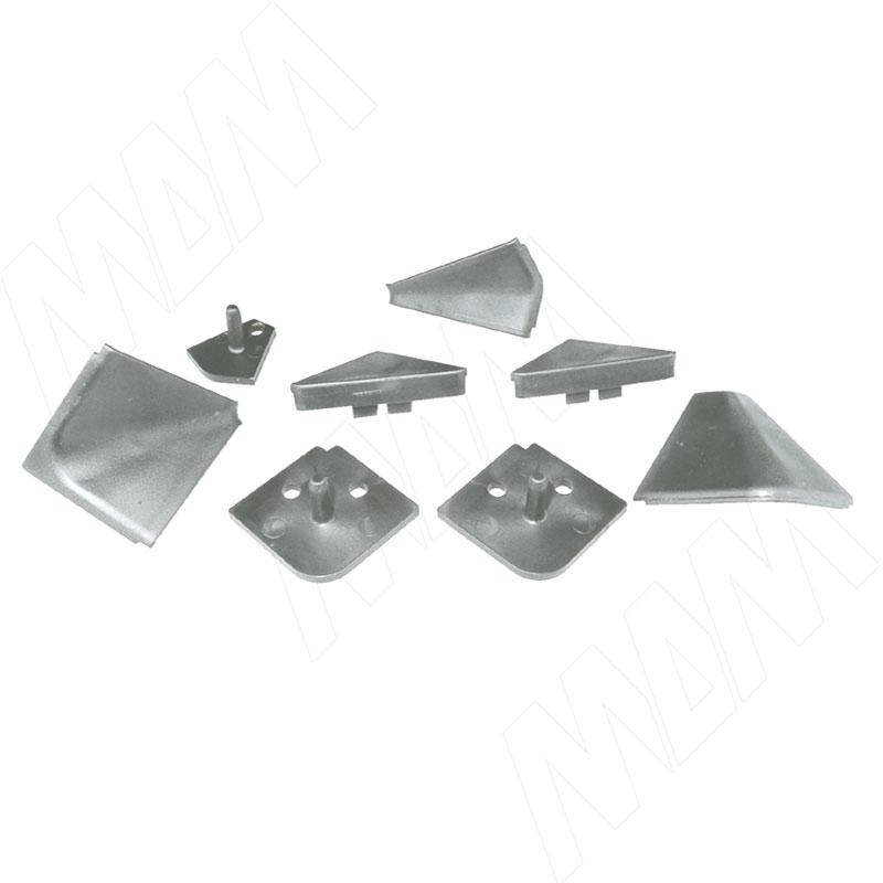 Аксессуары для треугольного плинтуса, Pimiller (09.565.GA) аксессуары для треугольного плинтуса 32 01r черный 09 532r nr