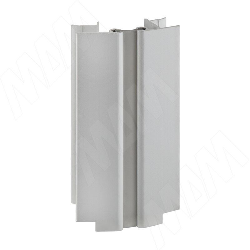 Фото - Мультиуголок алюминиевый (высота 100), алюминий матовый (0950.AL.00) мультиуголок алюминиевый высота 150 алюминий глянцевый 0955 al 01