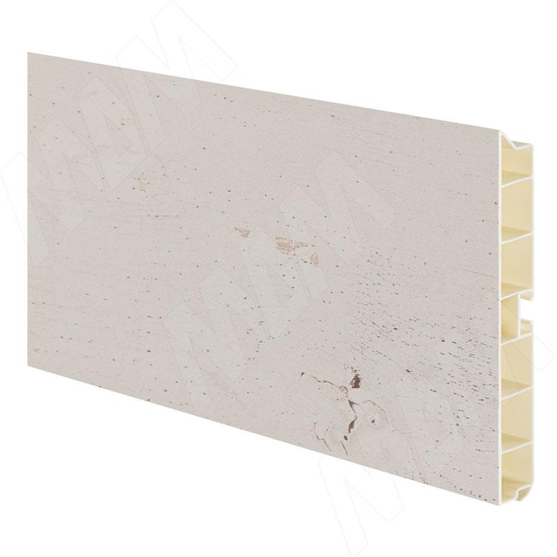 Цоколь пластиковый (высота 100, длина 4000 мм), старинный песок (10.0389 4M) цоколь пластиковый высота 100 длина 4000 мм орех 10 1365 4m