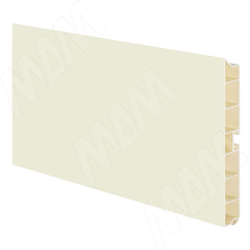 Цоколь пластиковый (высота 100, длина 4000 мм), ваниль (10.5075 4M) цоколь пластиковый высота 100 длина 4000 мм состаренное золото 10 gold 4m