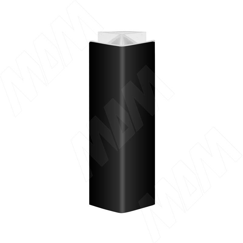 Уголок 135 градусов (высота 100), черный глянец (19.0331R.30)