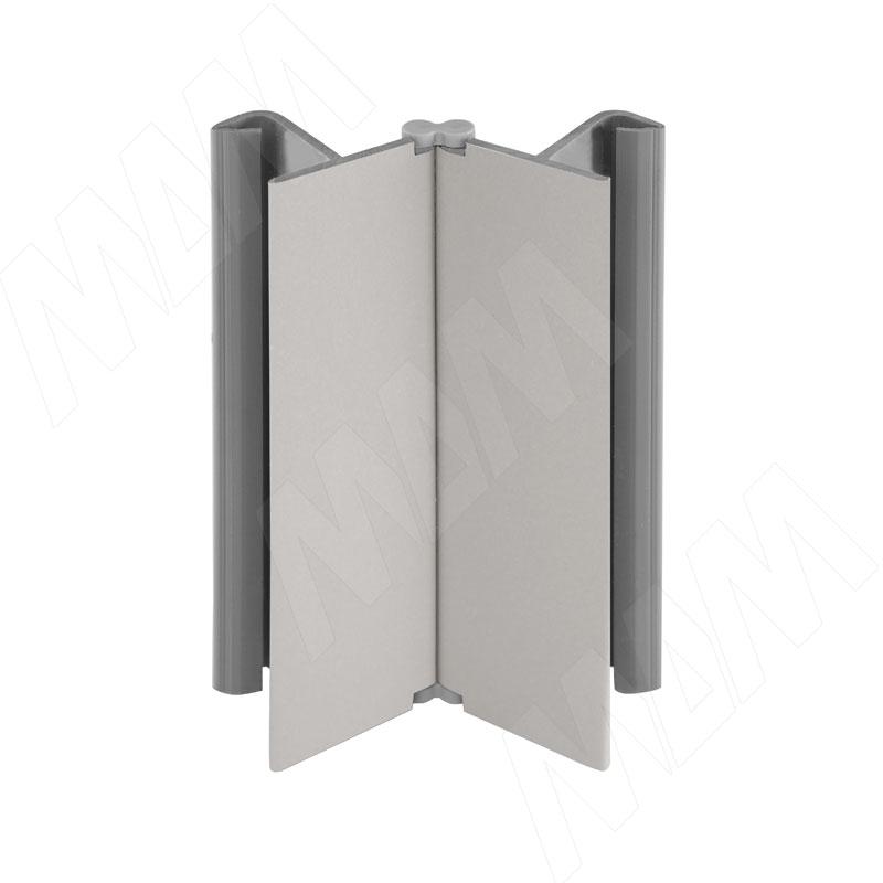 Фото - Мультиуголок (высота 150), серый альпака (19.0398.55) мультиуголок алюминиевый высота 150 алюминий глянцевый 0955 al 01