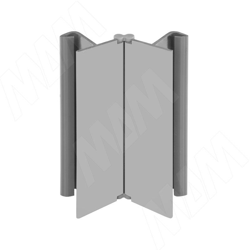 Фото - Мультиуголок (высота 150), алюминий матовый (19.0400.55) мультиуголок алюминиевый высота 150 алюминий глянцевый 0955 al 01