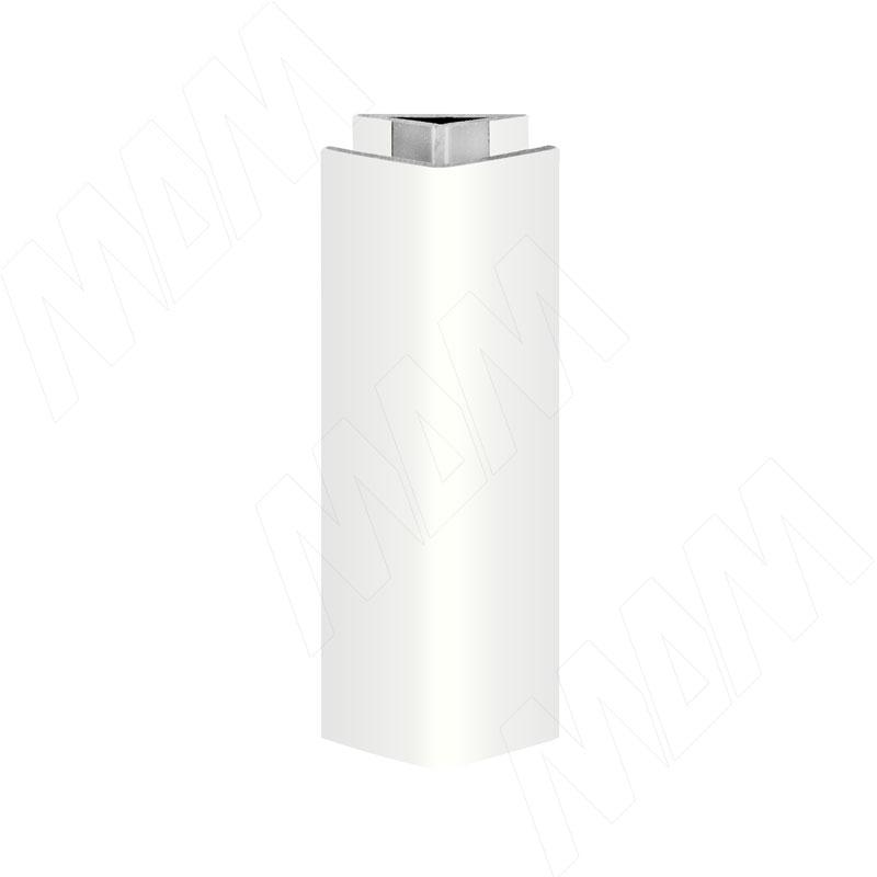 Уголок 135 градусов (высота 100), белый глянец (19.0418.30)
