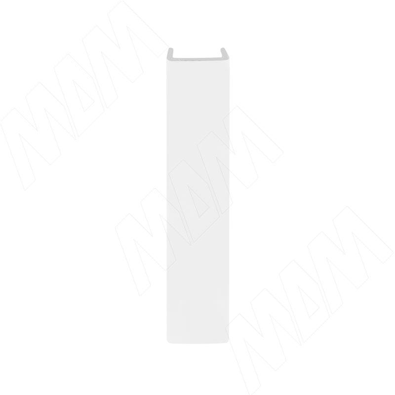 Конечный элемент (высота 120), белый глянец (19.0418.42)