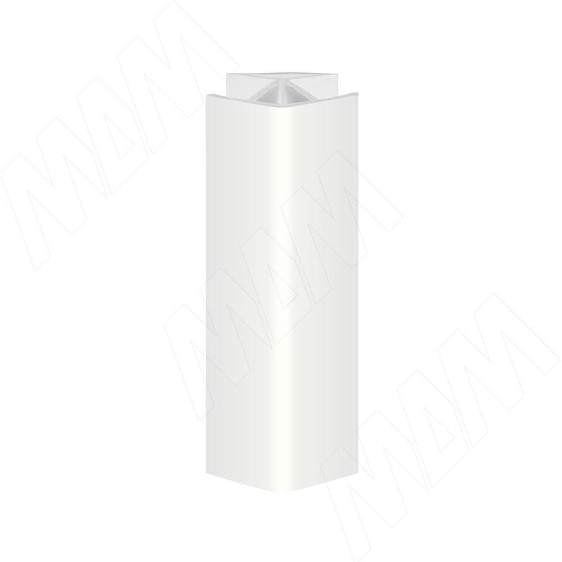 Уголок 135 градусов (высота 100), белый глянец (19.0420RN.30)