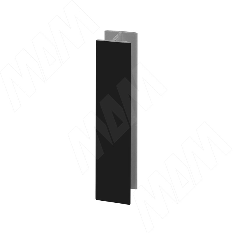 Соединитель 180 градусов (высота 100), черный (19.0421.20) соединитель kwb 7849 00