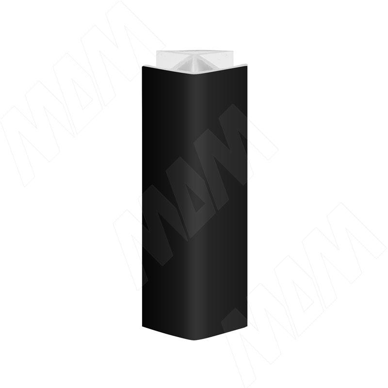 Уголок 135 градусов (высота 100), черный (19.0422R.30)