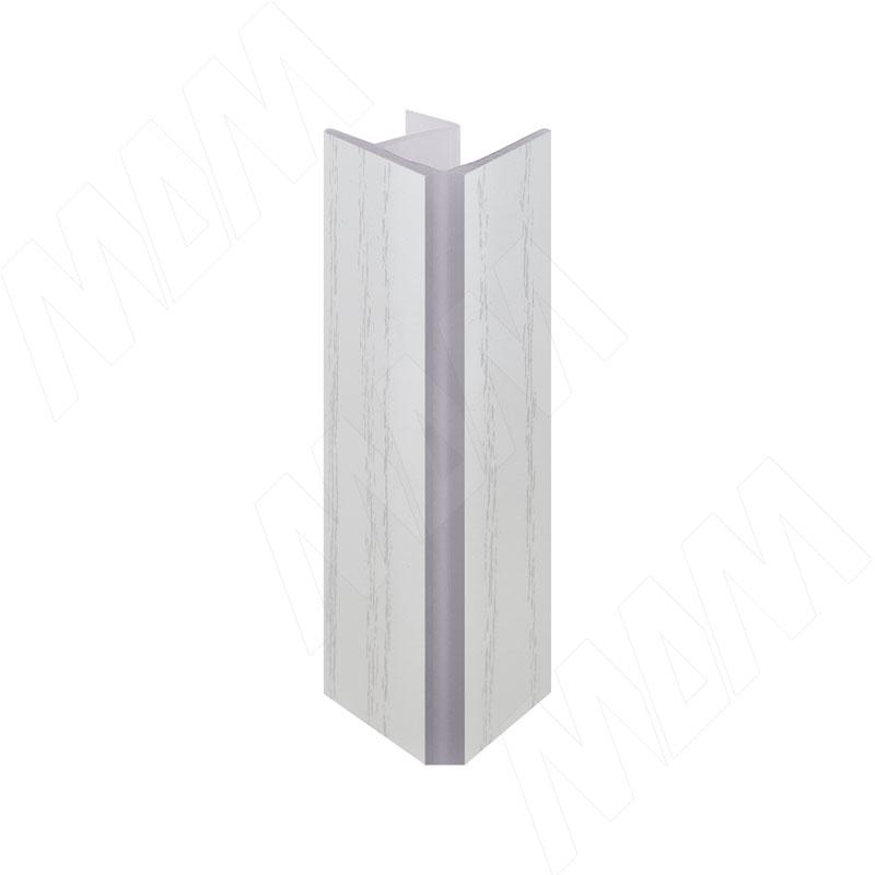 Уголок 90 градусов внутренний (длина 4000 мм), декапе белый (80.0431 4M)