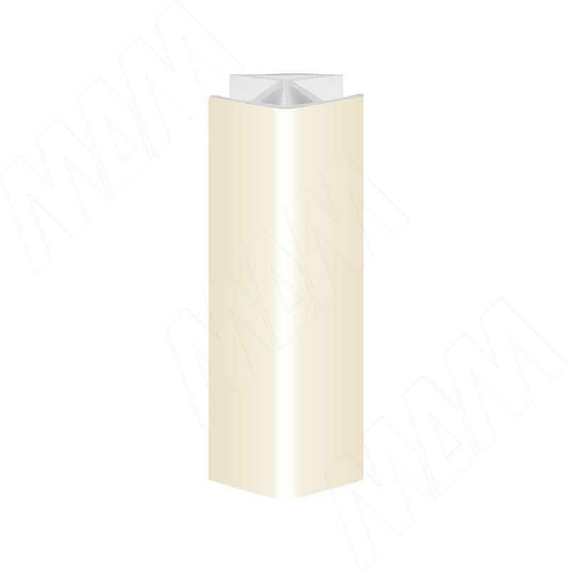 Уголок 135 градусов (высота 100), ваниль (19.5076R.30)