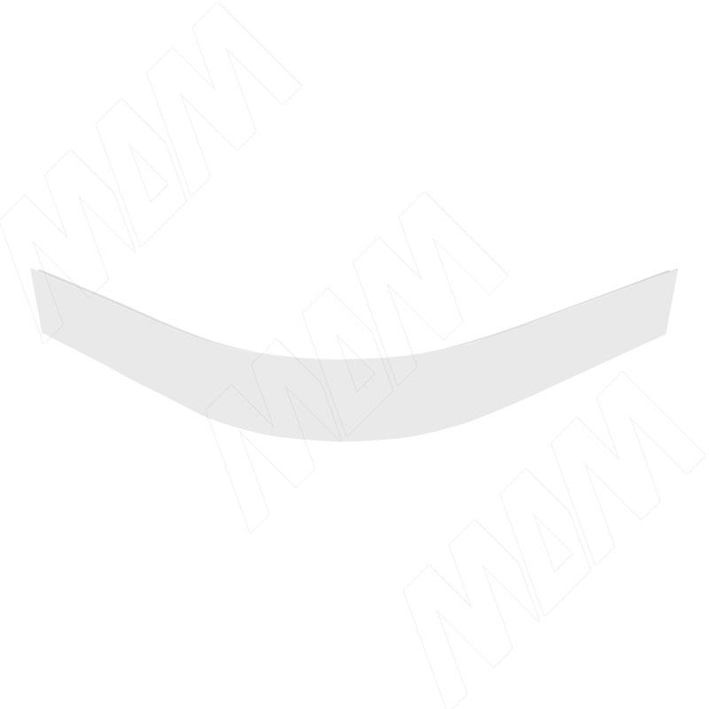 Радиусный элемент цоколя внешний (высота 100), белый (22.4801R.10)