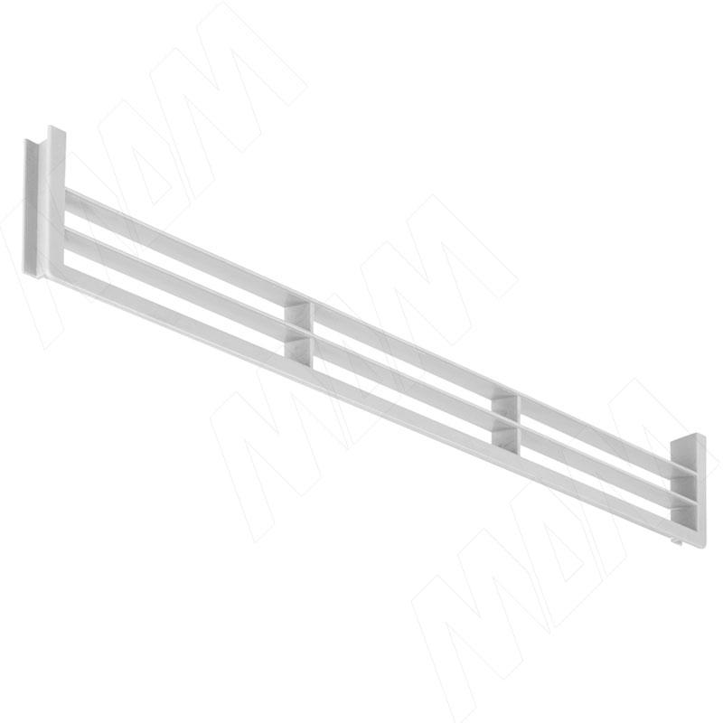Вентиляционная решетка для цоколя, белая (90.449.BI)