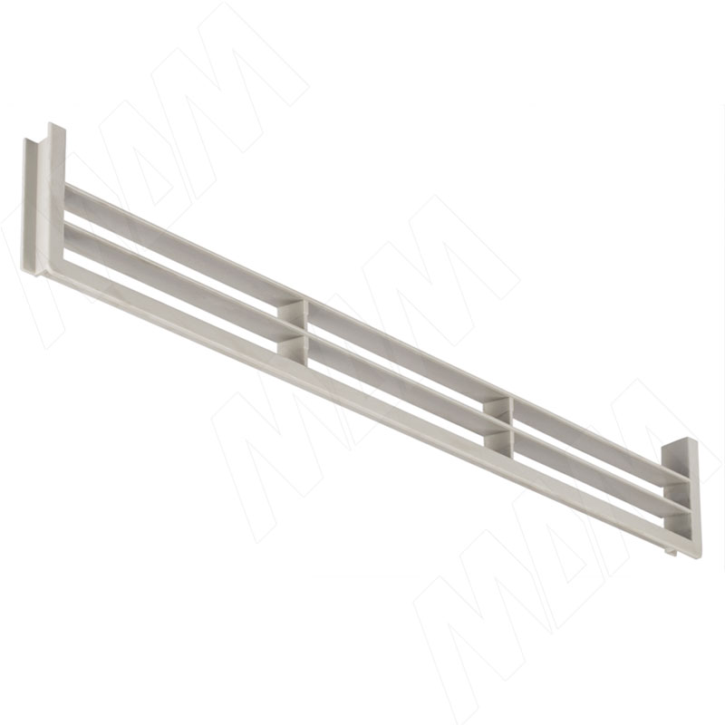Вентиляционная решетка для цоколя, алюм.серый (90.449.GA)