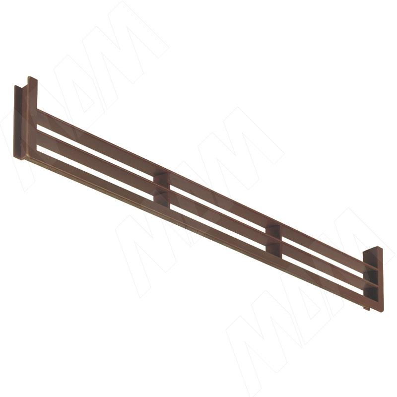 Вентиляционная решетка для цоколя, орех (90.449.NO)