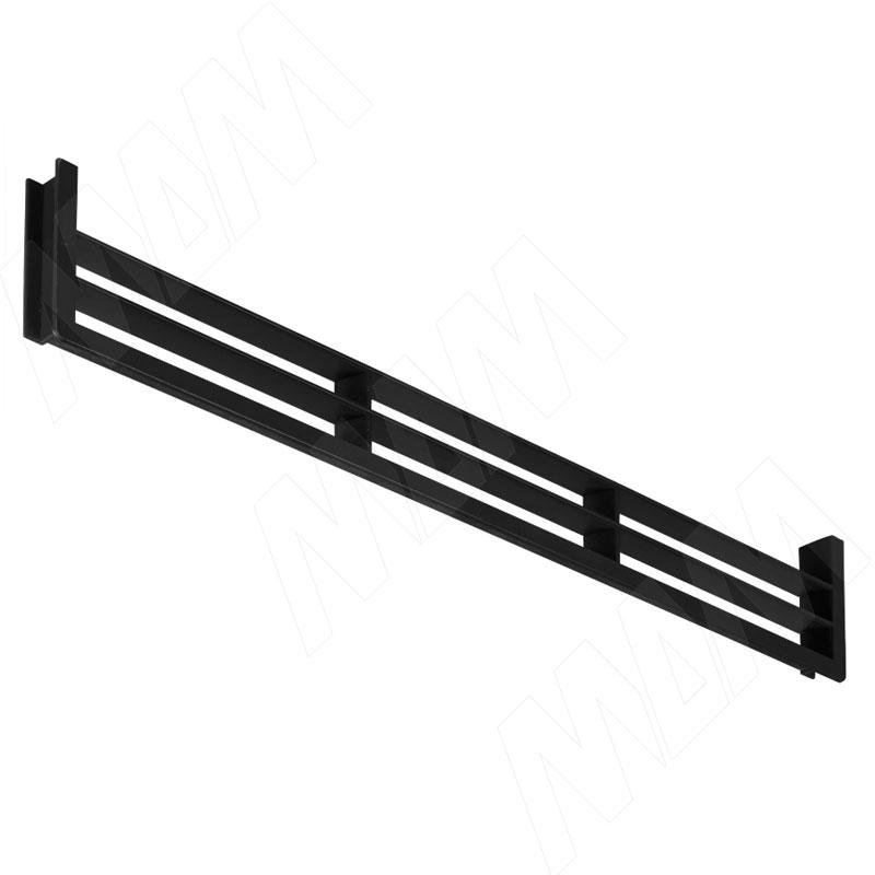 Вентиляционная решетка для цоколя, черная (90.449.NR)