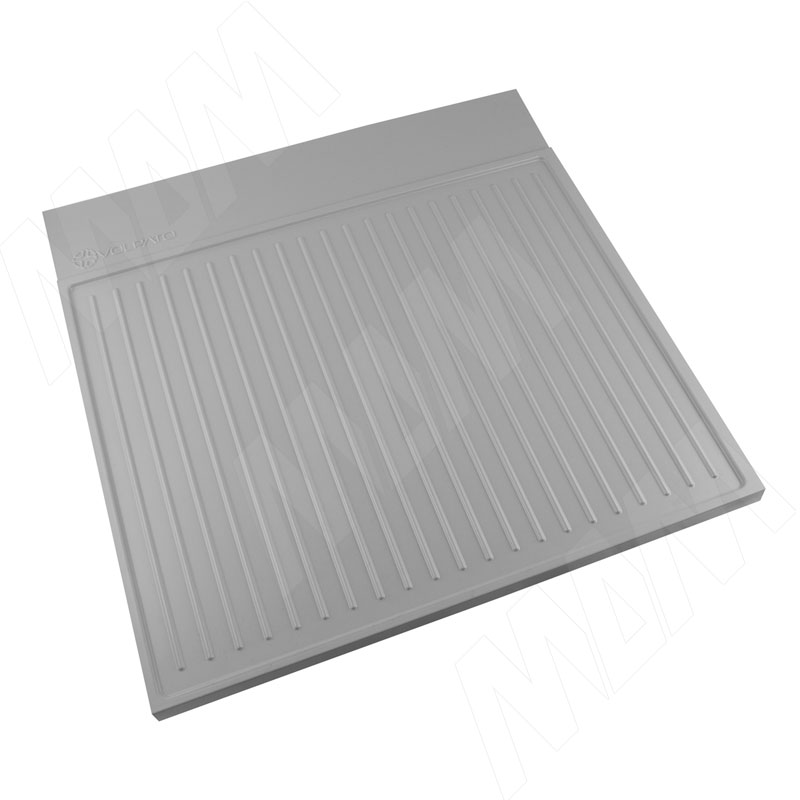 Пластиковый поддон для кух.базы под раковину 600 мм, серый (FP60GR)
