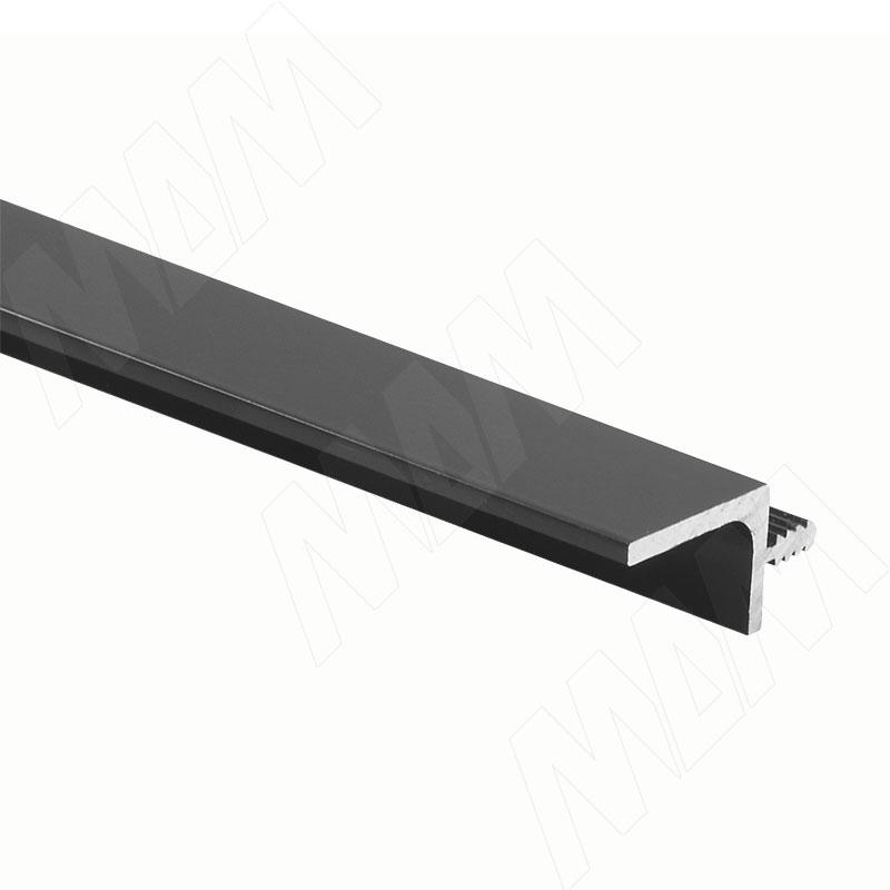 GOLINE Профиль-ручка для верхней базы, черный матовый (краска), L-3000 (GL2.152A.3000.BLM PR)