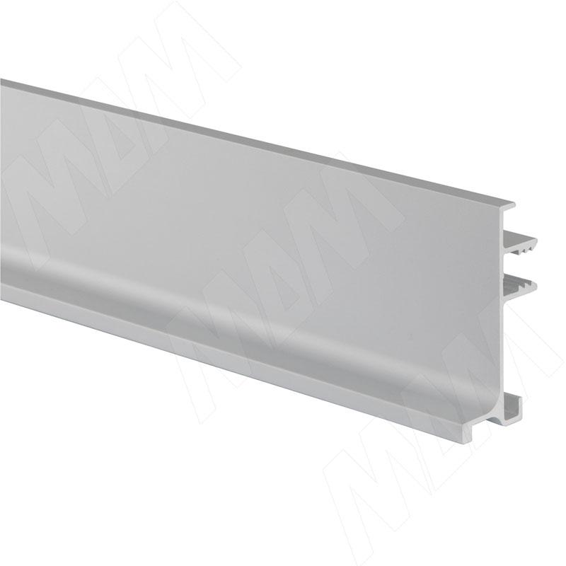 GOLINE Универсальная профиль-ручка без демпферов под столешницу, алюминий матовый, L-4080 (GL2.548A.4080.7F)