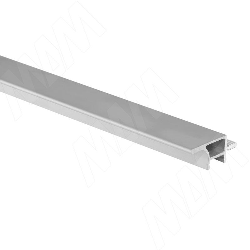 GOLIGHT Профиль-ручка для верхней базы, под светодиодную ленту, алюминий матовый, L-2000 (GL3.152A.2000.7F PR) 0 pr на 100