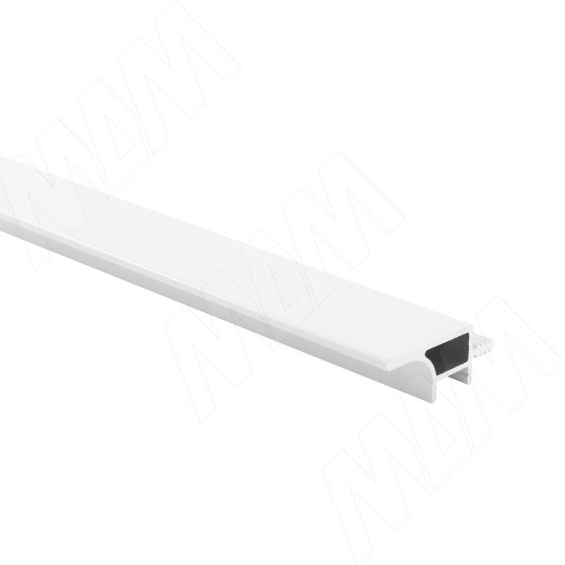 GOLIGHT Профиль-ручка для верхней базы, под светодиодную ленту, белый матовый, L-2000 (GL3.152A.2000.WHM PR)