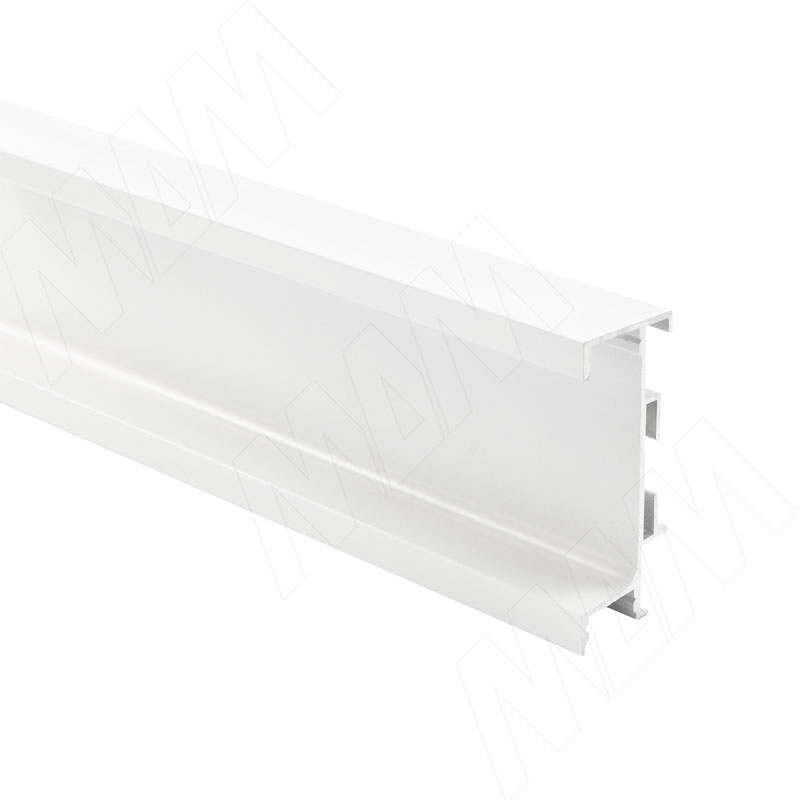 GOLIGHT Универсальная профиль-ручка под столешницу, под светодиодную ленту, белый матовый, L-4100мм (GL3.3566.4100.WHM PR)