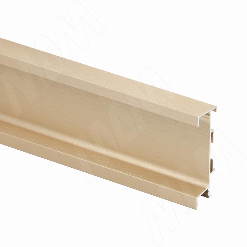 GOLIGHT Универсальная профиль-ручка под столешницу, под светодиодную ленту, золото брашированное, L-4100мм (GL3.3566.4100.GLB PR) 0 pr на 100