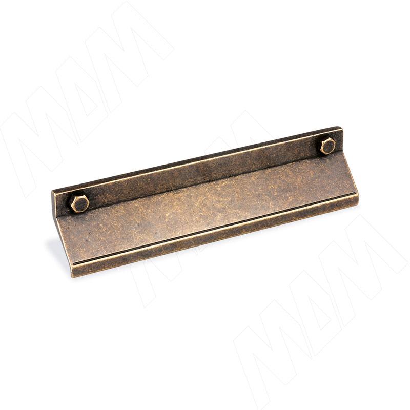 Профиль-ручка 128мм бронза состаренная (1490.128.2B)