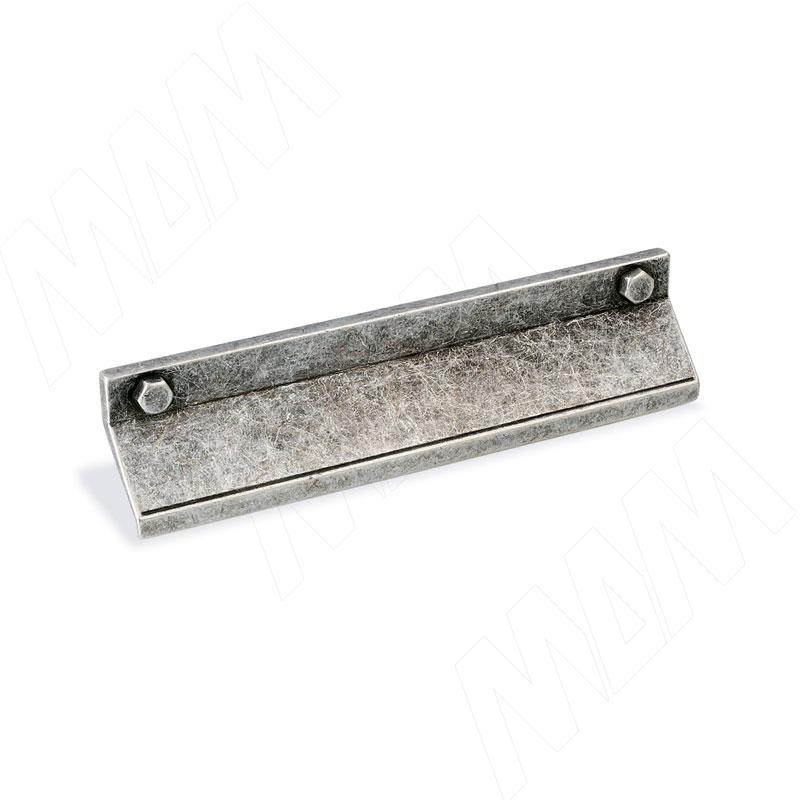 Профиль-ручка 128мм серебро состаренное (1490.128.6D)
