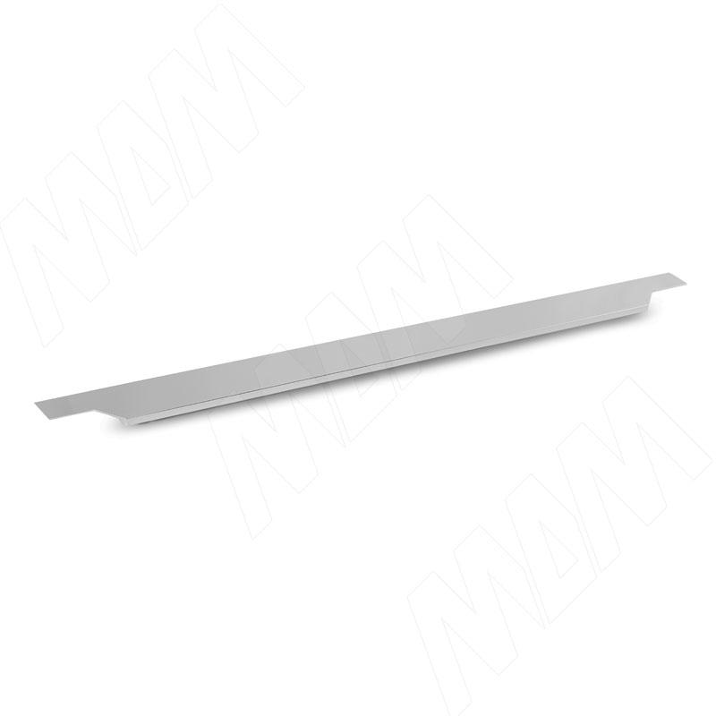 Профиль-ручка 500мм крепление саморезами алюминий полированный (25.500.AS) профиль ручка 200мм крепление саморезами алюминий полированный 25 200 as