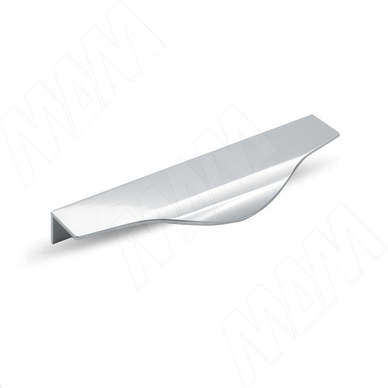Профиль-ручка 200мм крепление саморезами алюминий полированный (26.200.AS) профиль ручка 200мм крепление саморезами алюминий полированный 25 200 as