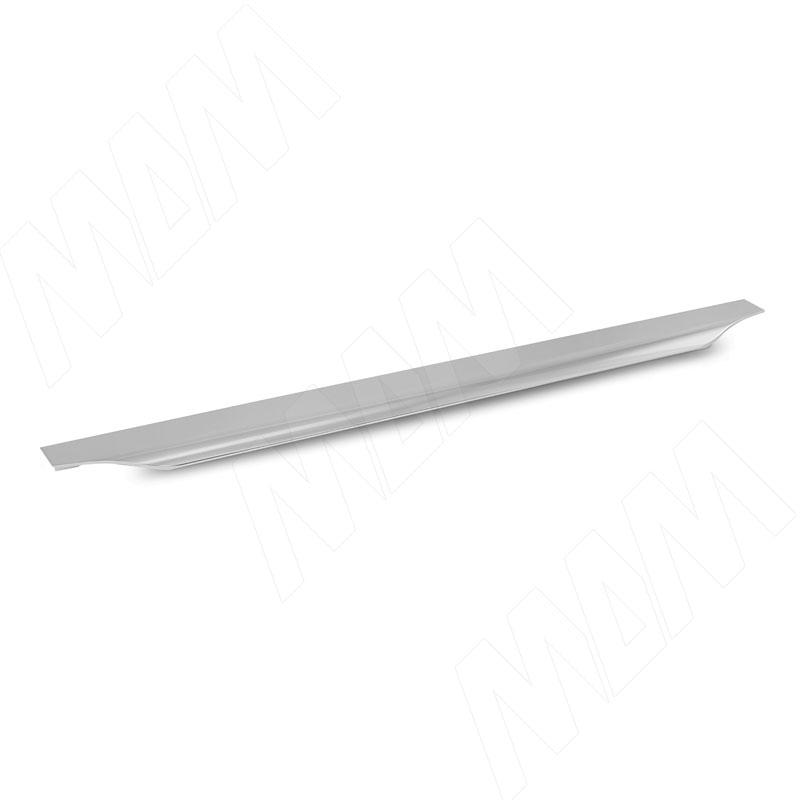 Профиль-ручка 400мм крепление саморезами алюминий полированный (26.400.AS) профиль ручка 200мм крепление саморезами алюминий полированный 25 200 as