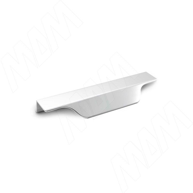 Профиль-ручка 150мм крепление саморезами алюминий полированный (27.150.7G)