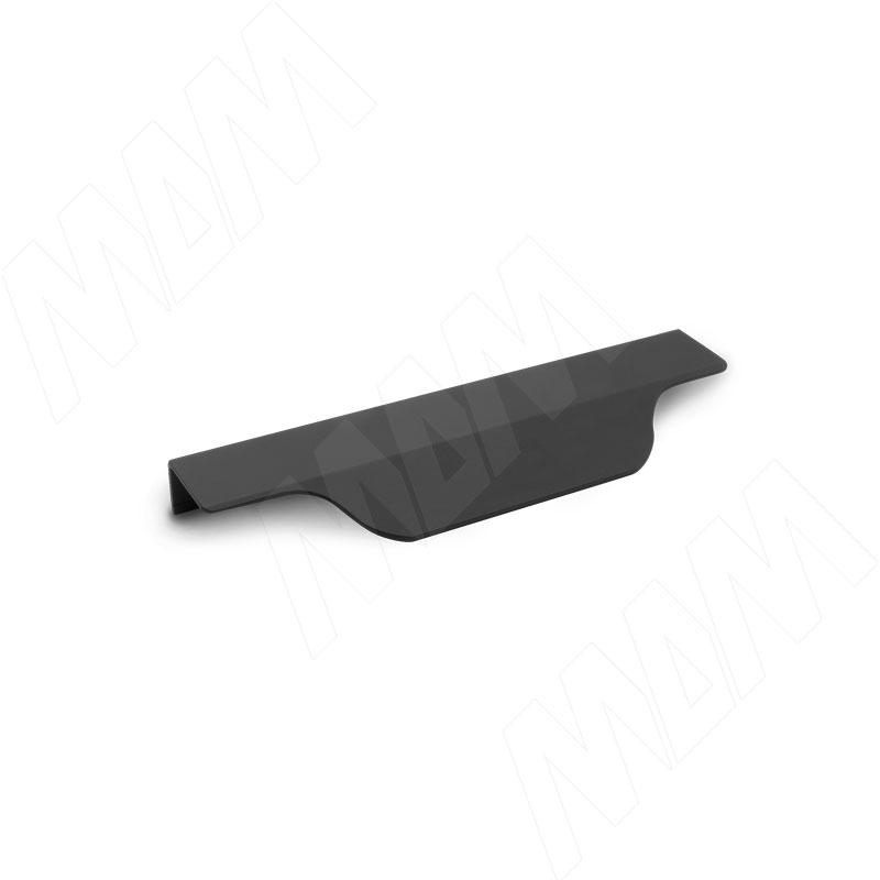 Фото - Профиль-ручка 200мм крепление саморезами черный матовый (27.200.7W) профиль ручка 200мм крепление саморезами черный матовый 27 200 7w