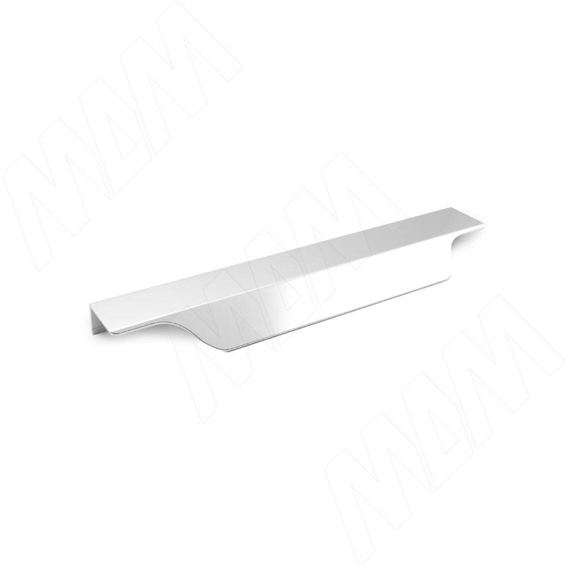 Профиль-ручка 200мм крепление саморезами алюминий полированный (27.200.7G)